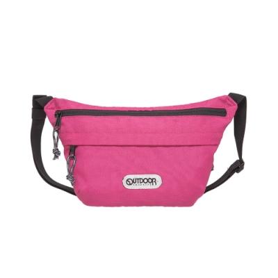 【OUTDOOR】二用側背包-粉紅色 OD191106PK