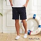 Nautica經典圖騰短褲-藍色