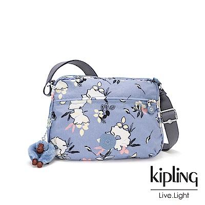 KIpling 柔雅花卉多拉鍊實用側背包-CORA S