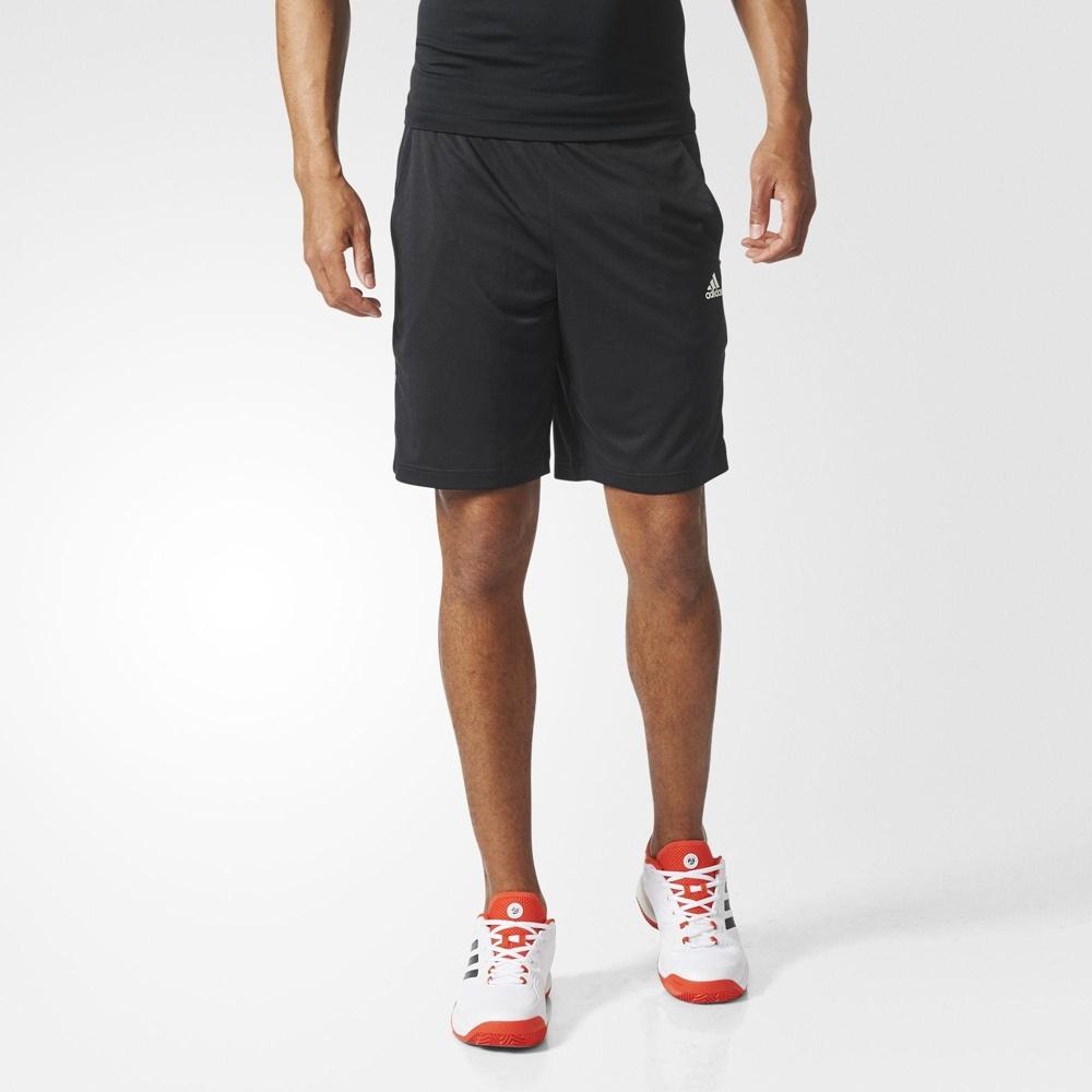 ADIDAS TS GALAXY SHORT 網球 男運動短褲-黑-D84687
