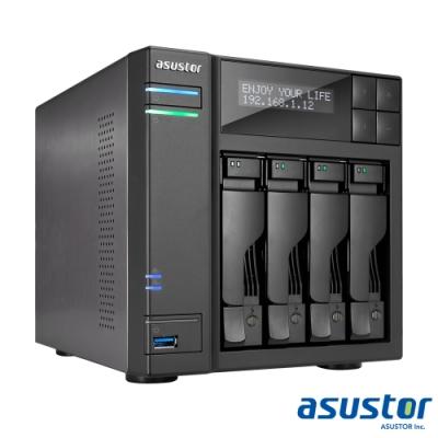 【促銷組合】華芸AS6404T AS6404T 4Bay 網路儲存伺服器+WD 4TB*4