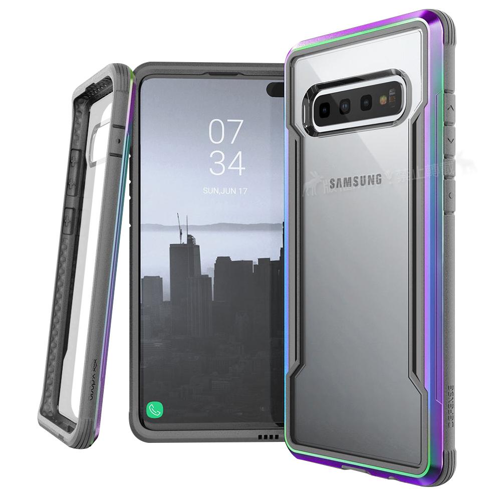DEFENSE 刀鋒極盾Ⅲ Samsung  S10+ 耐撞擊防摔手機殼(繽紛虹)
