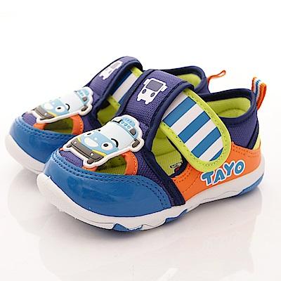TAYO小巴士童鞋 透氣運動鞋款 EI 3001 桔(中小童段)