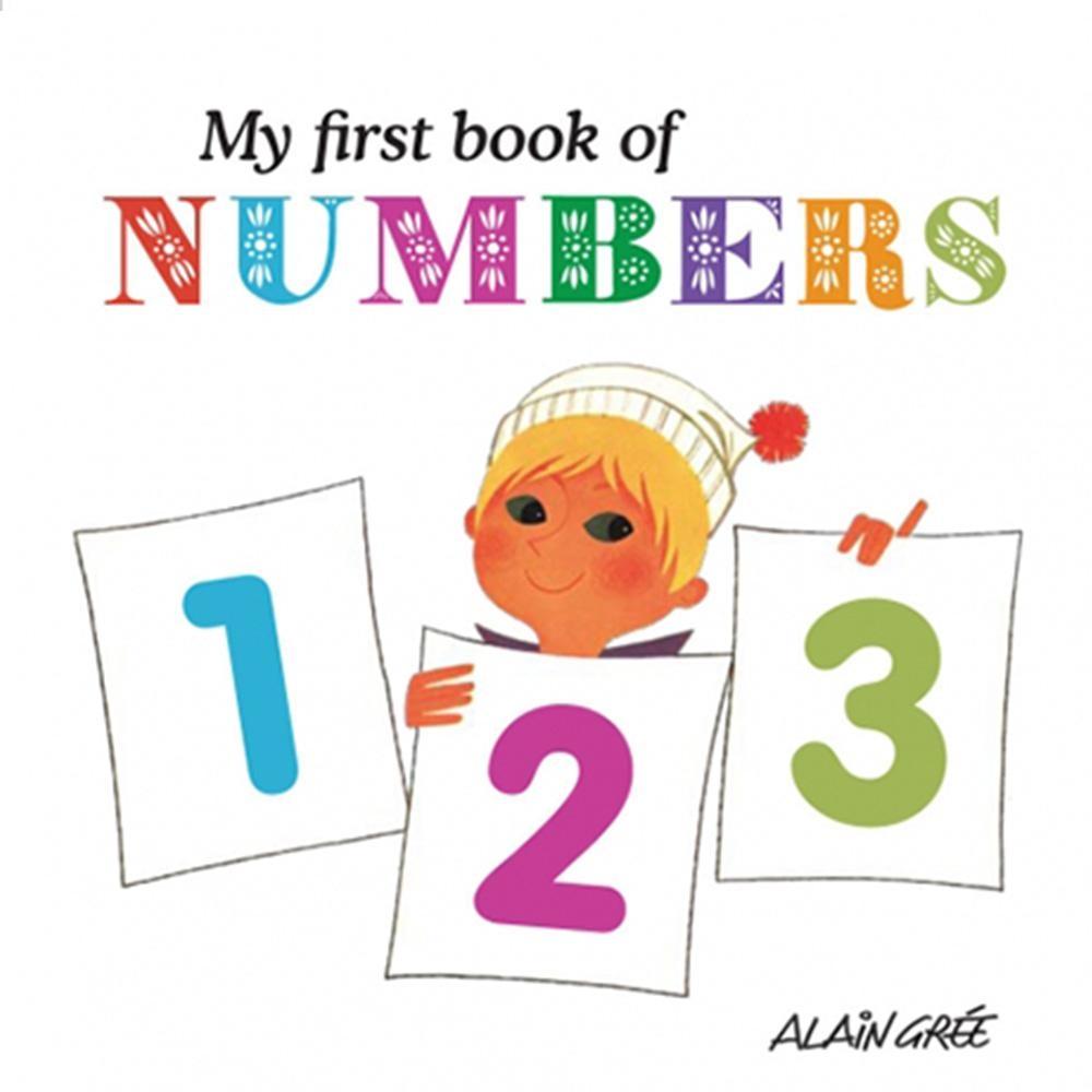 My First Book Of Numbers 我的第一本算數學習書