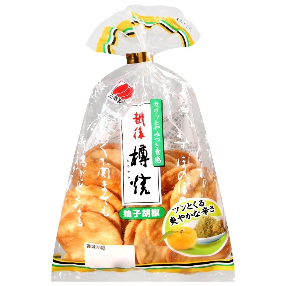 三幸製果 柚子風味仙貝(90g)