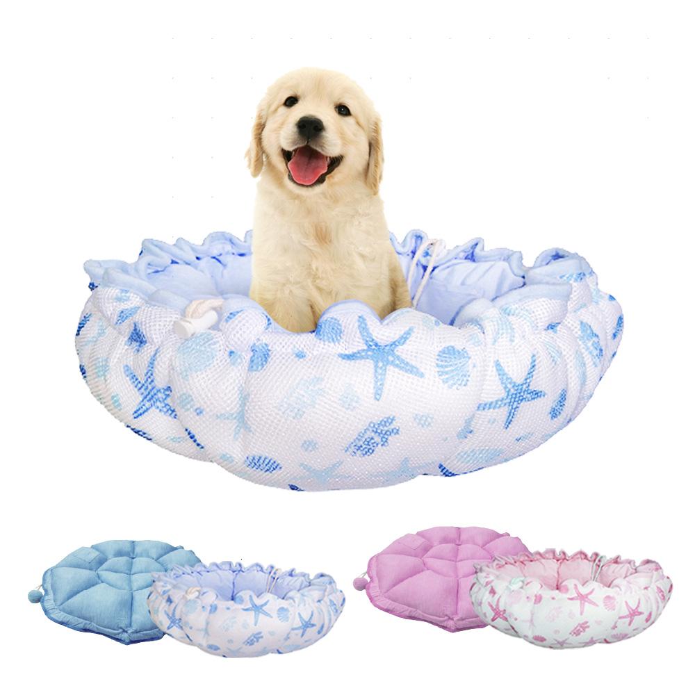 YSS 玉石冰雪纖維散熱冷涼感加厚平舖窩型兩用寵物床墊/睡墊(2色)