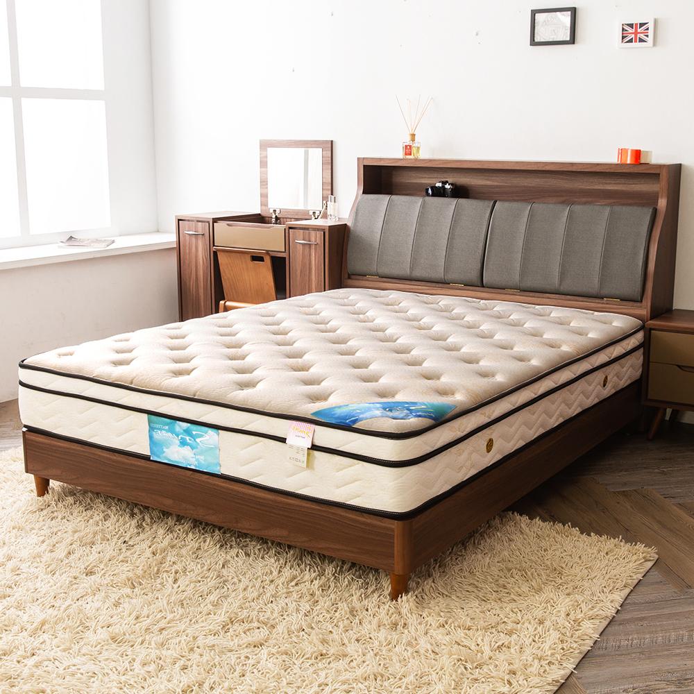 時尚屋 翠絲特厚一層三線3.5尺加大單人獨立筒彈簧床墊