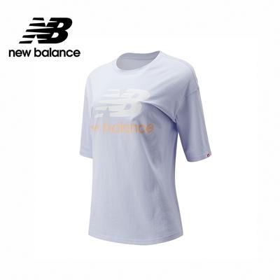 [New Balance]基本短袖T恤_女性_淺紫色_AWT03519SIY