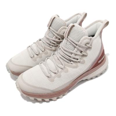 Merrell 戶外鞋 Bravada Waterproof 女鞋 防水 抗磨損 防撕裂 包覆 避震 穩定 淺褐 米 ML036014