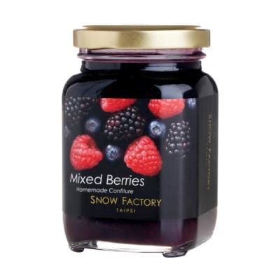 雪坊Snow Factory 法式手工果醬-綜合野莓(238g)