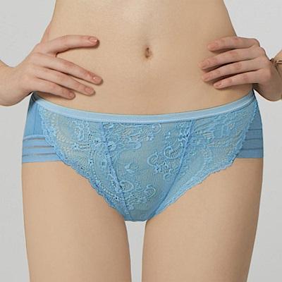 瑪登瑪朵 無比集中 低腰三角內褲(珊瑚藍)