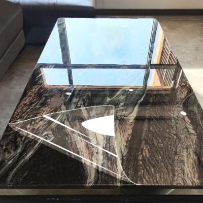 加厚傢俱防汙耐高溫透明保護膜(90*100cm)