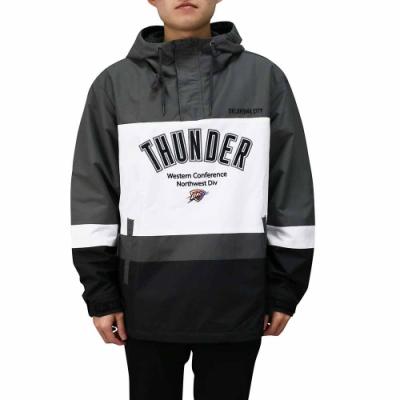 NBA Style WOVEN JUMPER 套頭風衣 連帽上衣 雷霆隊