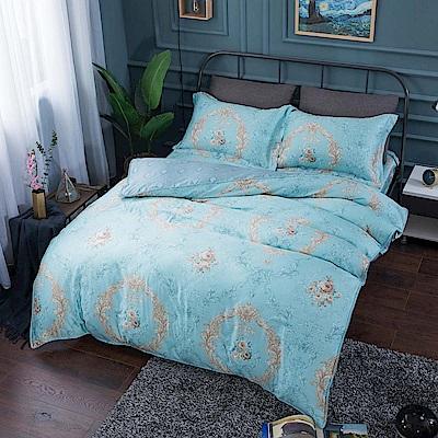 夢工場 似雲織錦40支紗天絲兩用被床包組-特大