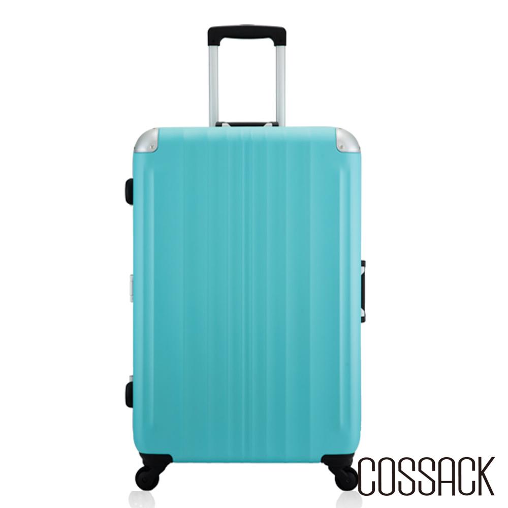 Cossack- SPIRIT 2風度- 27吋PC鋁框行李箱-霧藍