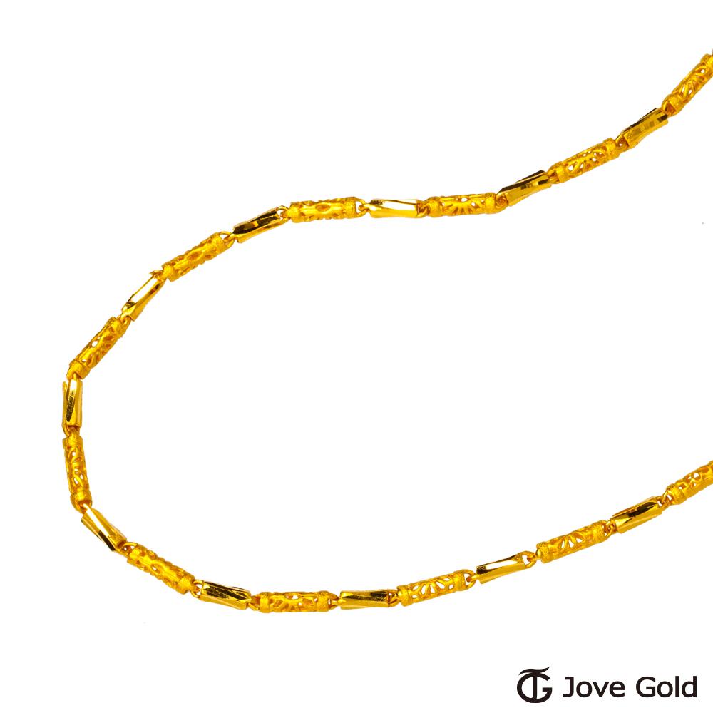 (無卡分期12期)Jove Gold 富貴黃金項鍊(約6.39錢)(約一尺八50cm)