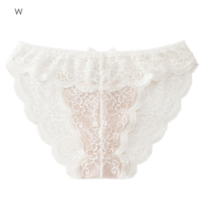 aimerfeel 性感裸肌蕾絲內褲-白色-599221-W