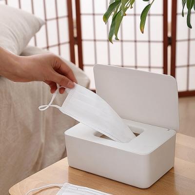 【Cap】多功能防塵濕紙巾收納盒(口罩收納盒/手套收納盒/衛生紙收納盒)