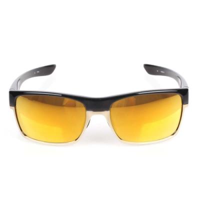 OAKLEY Two Face一般太陽眼鏡附鏡袋無鼻墊 黑金
