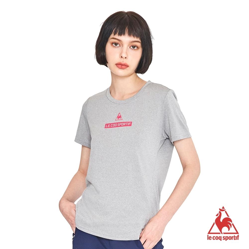法國公雞牌短袖T恤 LWL2310995-女-麻灰
