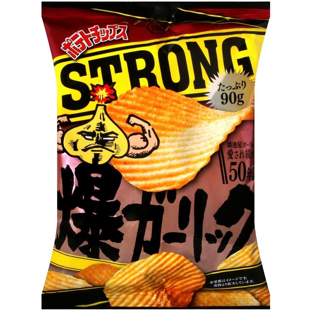 湖池屋 洋芋片-蒜味(90g)