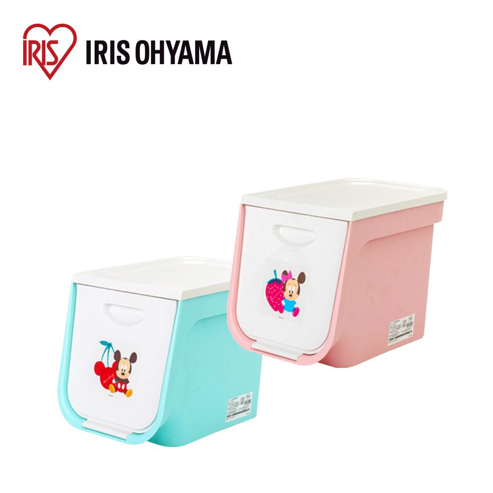 日本Iris Ohyama 迪士尼系列上掀式收納箱
