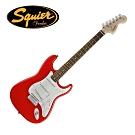 Squier Bullet Stratocaster FRD 電吉他 鮮紅色