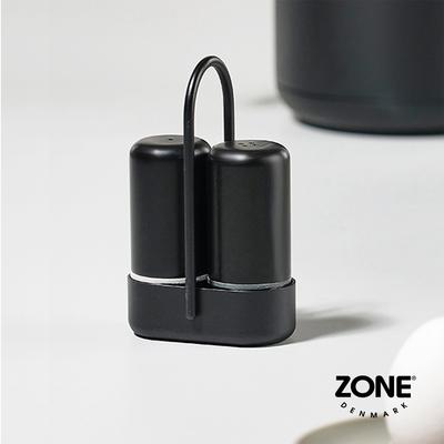 丹麥ZONE Singles調味罐二件組(附收納提架)