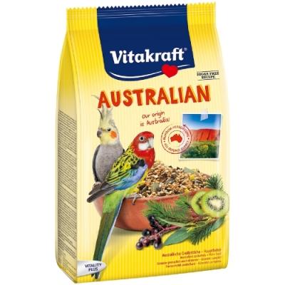 德國Vitakraft Vita-中型長尾鸚鵡-澳洲鸚鵡總匯美食系列(21644) 750g 兩包組