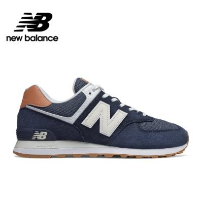 【New Balance】 復古鞋_中性_深藍_ML574TYA-D楦