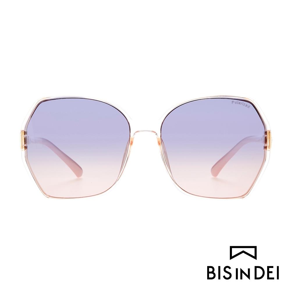 BIS IN DEI 復古爵士框太陽眼鏡-藕