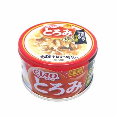 日本 CIAO 多樂米濃湯罐 A-48 鰹魚燒&雞肉&柴魚片 80g