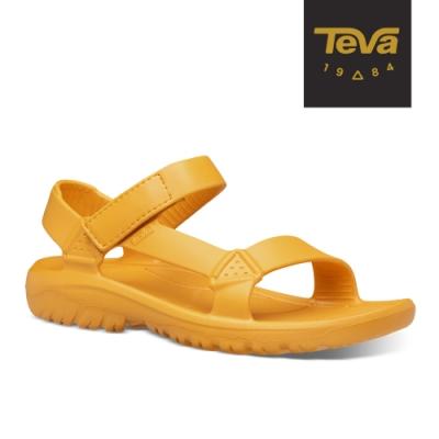 TEVA 原廠貨 男 Hurricane Drift 水陸輕量涼鞋-太陽花黃