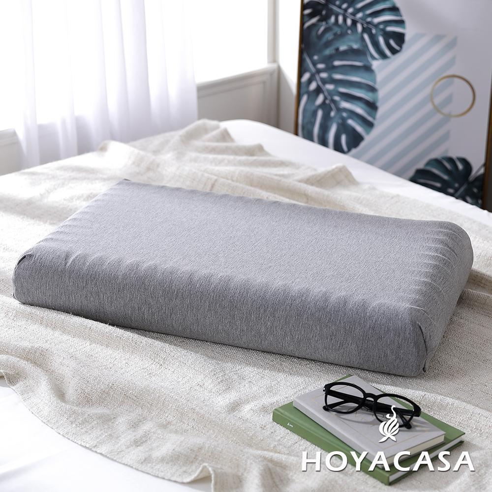 【HOYACASA 】石墨烯科技慢回彈記憶枕(二入)