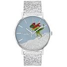 (時時樂)COACH 暴龍滑雪時尚腕錶-36mm (14503481)