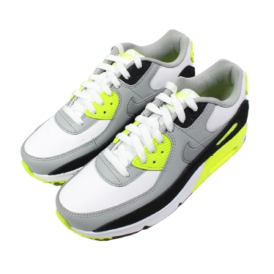 Nike 經典復古鞋 AIR MAX 90 LTR (GS) 女鞋 兩色任選(螢光綠/粉色)
