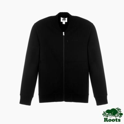Roots男裝-摩登週間系列 修身版夾克外套-黑色