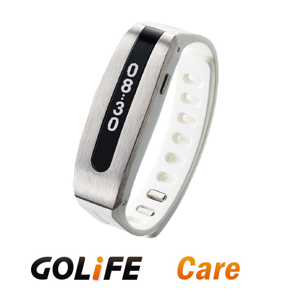 GOLiFE 第二代Care 健康智慧手環(by PAPAGO!) -銀白色