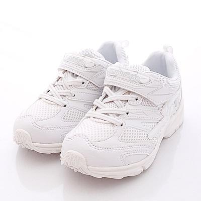 日本月星頂級競速童鞋 全新純白私校款 6441白(中大童段)