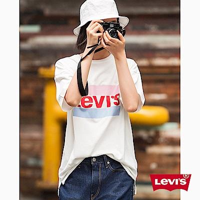 T恤 女裝 短袖純棉TEE LOGO - Levis