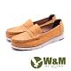 W&M 縫線裝飾休閒樂福鞋 女鞋 - 棕(另有黑) product thumbnail 1
