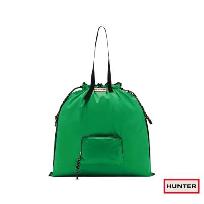 HUNTER - 可收納托特包 - 綠