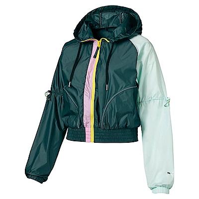 PUMA-女性訓練系列Trailblazer風衣外套-西黃松-亞規