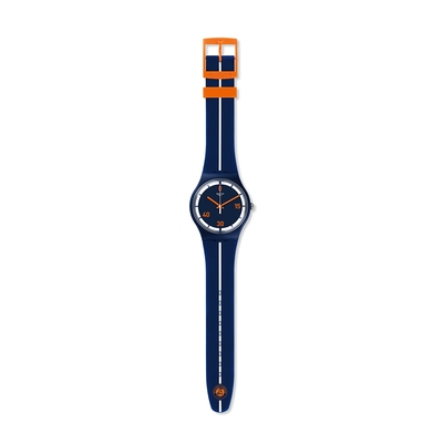 SWATCH New Gent 原創系列手錶 CENTER COURT 中央法院-41mm
