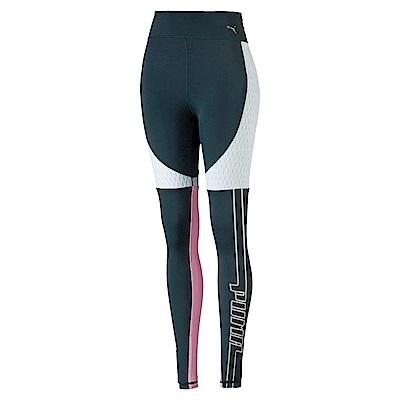 PUMA-女性訓練系列Trailblazer緊身褲-西黃松-歐規