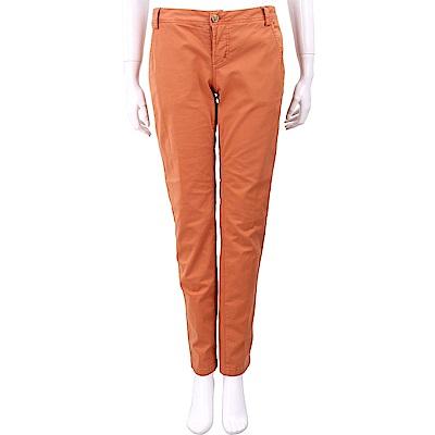 YES LONDON 橘色棉質九分煙管褲 @ Y!購物
