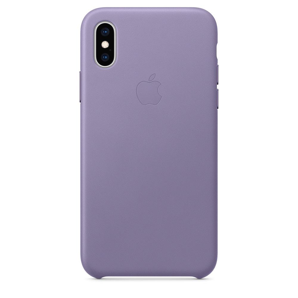 原廠 Apple iPhone XS 皮革保護殼