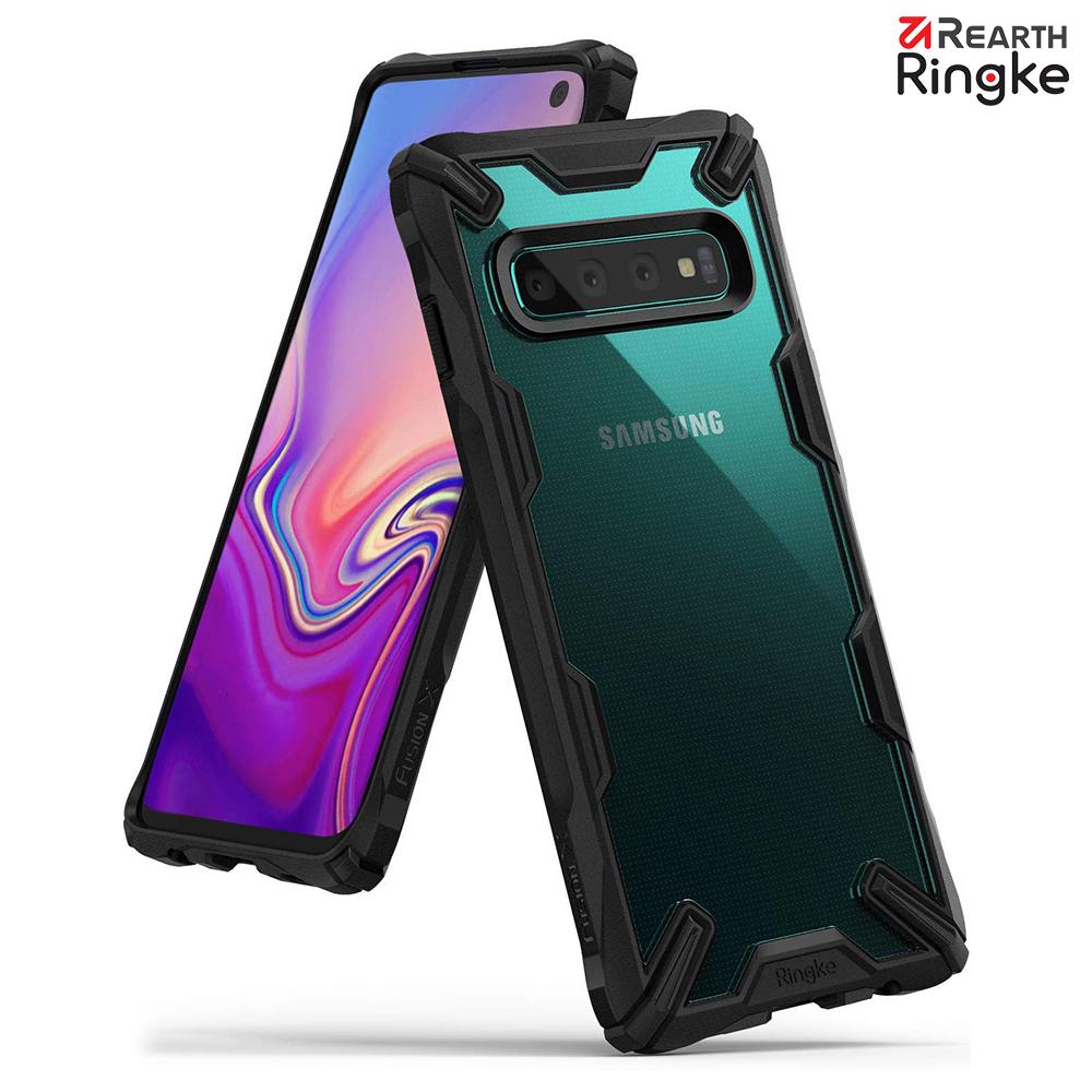 【Ringke】Galaxy S10 [Fusion X] 透明背蓋防撞手機殼