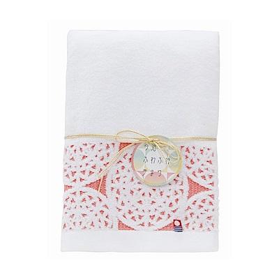 日本Prairiedog 今治無撚純綿浴巾-紅