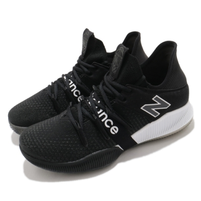 New Balance 籃球鞋 OMN1S Low Wide 寬楦 男鞋 紐巴倫 避震 包覆 支撐 球鞋 黑 白 BBOMNLBK2E